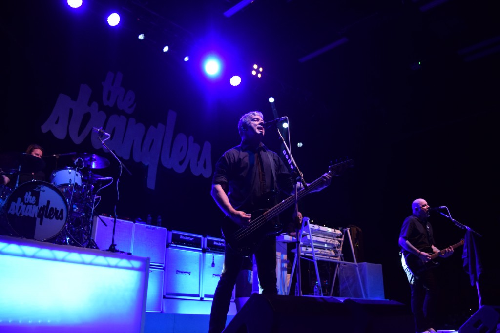 The Stranglers, Black and White tour, Cardiff University Students Union