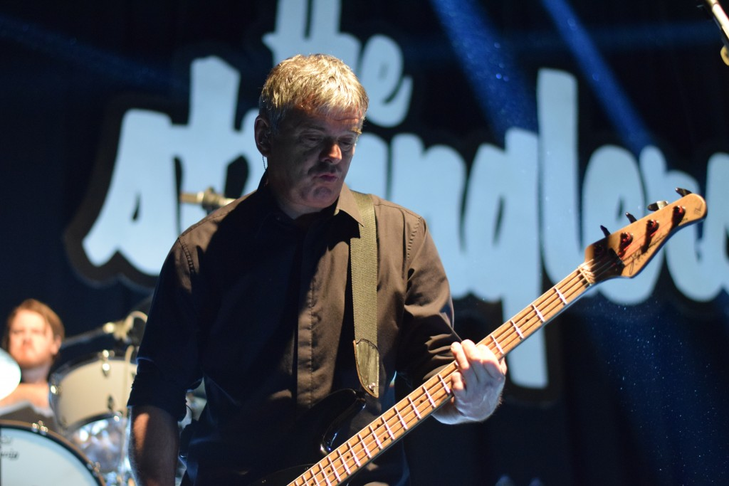 Jean Jaques Burnell, The Stranglers original bassist, still got it!