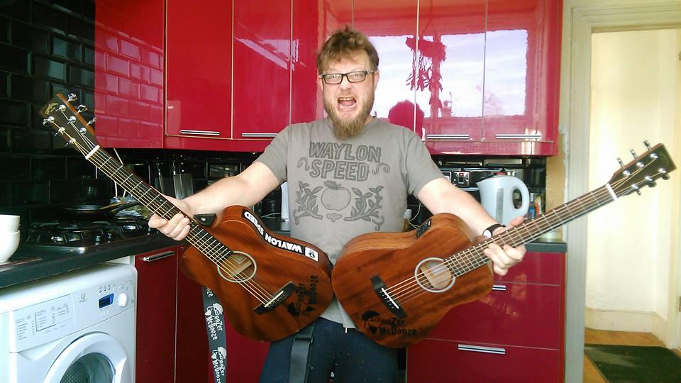 Doozer McDooze - a one man dueling banjos type dude.