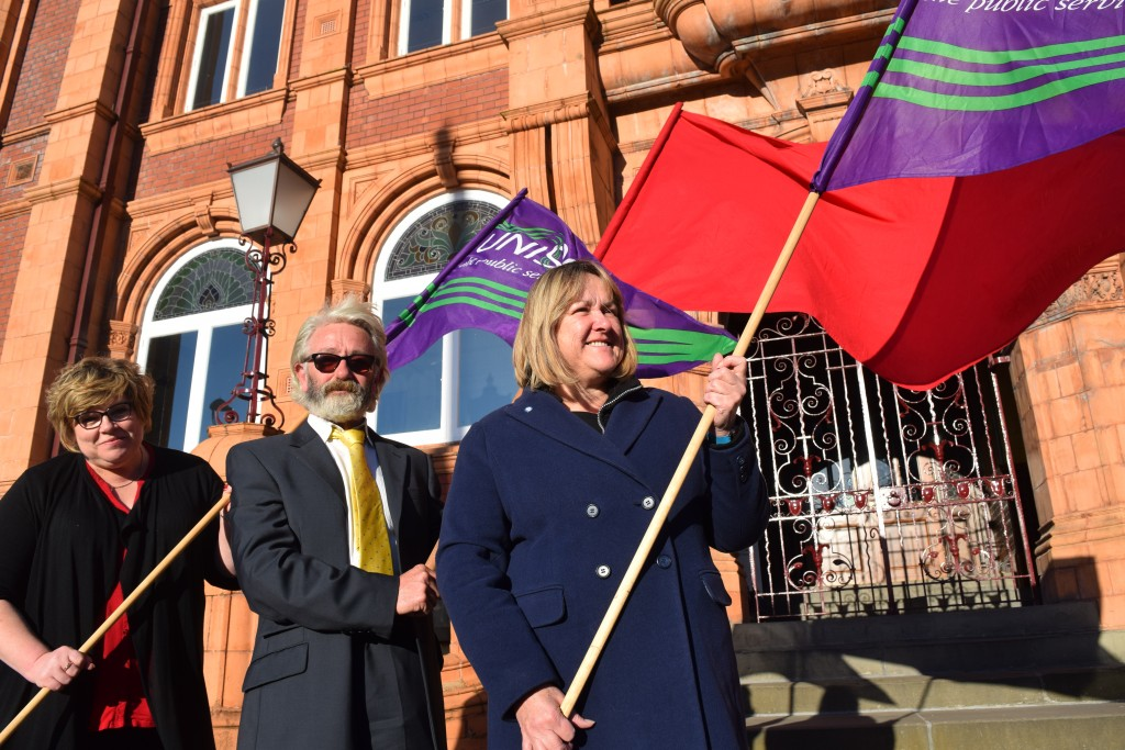 UNISON keeping the red flag flying in Merthyr