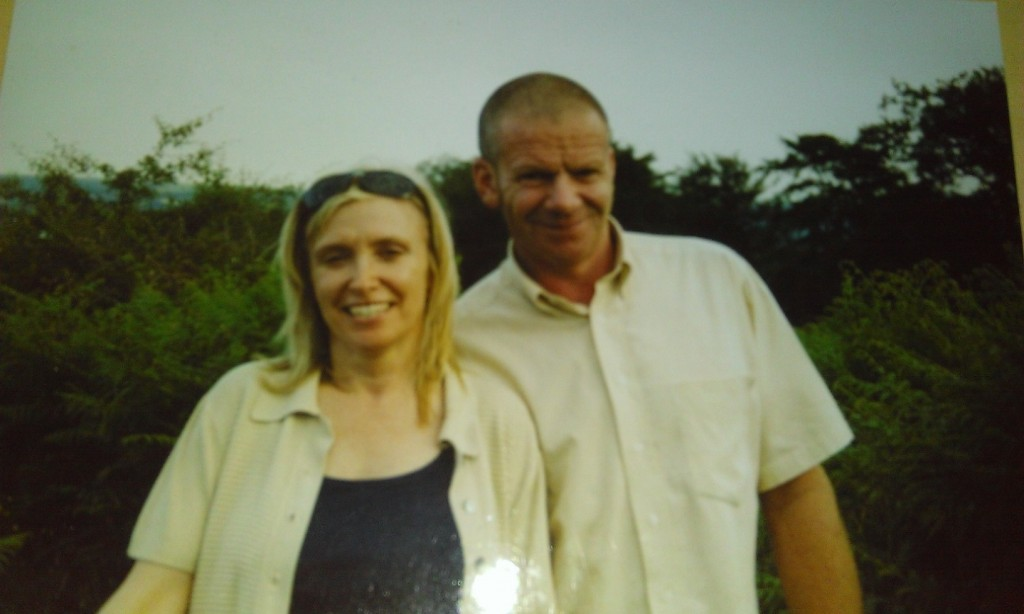 Steve and his wife Lesley