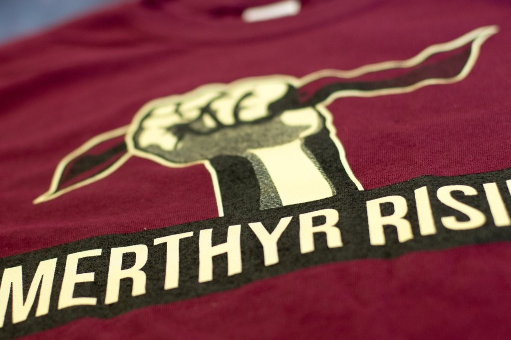 merthyr rising t shirt