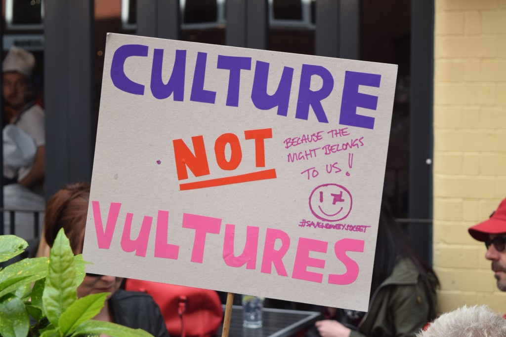Culture Vultures, not vulture culture