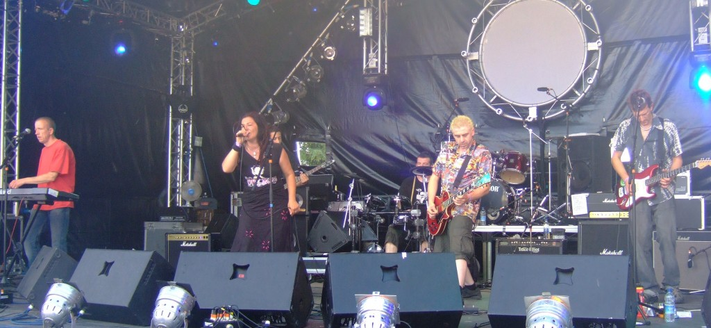 Second Come Back gig, Endorse it in Dorset, 2007